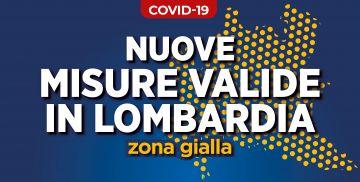 ❗ COVID-19: Provvedimenti in vigore in Lombardia