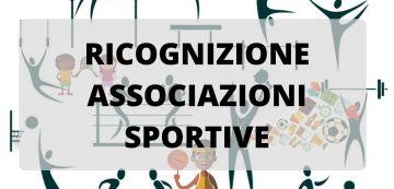 Ricognizione Associazioni Sportive