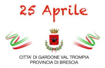 Celebrazione 25 Aprile 2021