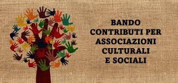 Contributi per associazioni culturali e sociali